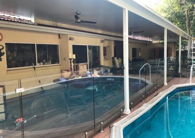 insulated roofing pool area