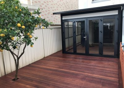tempered glass sunroom