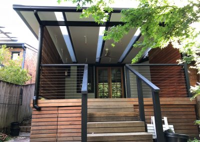Stairways insulated roof patio panels