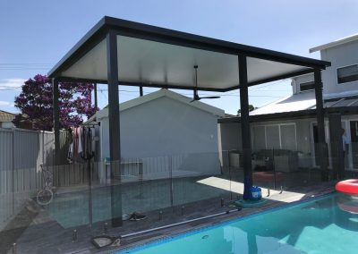 Poolside Insulated roof patio